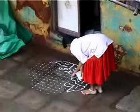 KOLAMS OF PONDICHERRY - by Kaaren Beckhof