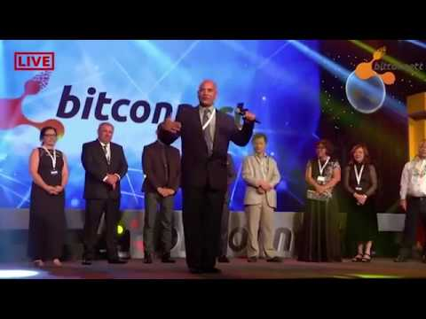 Bitconnect, a 1 billion dollar crypto platform recently just shut down and scammed a bunch of people. Heres a video from one of their events.