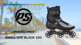 Inlines Powerslide Swell Lite Black 3x100 TRINITY