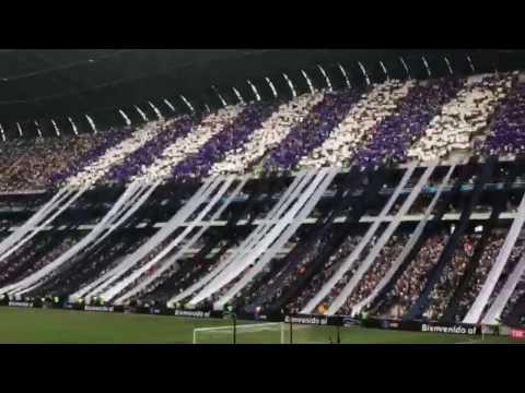 RECIBIMIENTO CLÁSICO 110!!  RAYADOS VS TIGRES - La Adicción - Monterrey