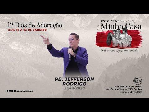 Pb. Jefferson Rodrigo - Minha casa, um lugar de gr