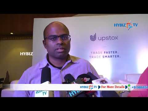 Upstox Trade Smarter App Launch | Ravi Kumar