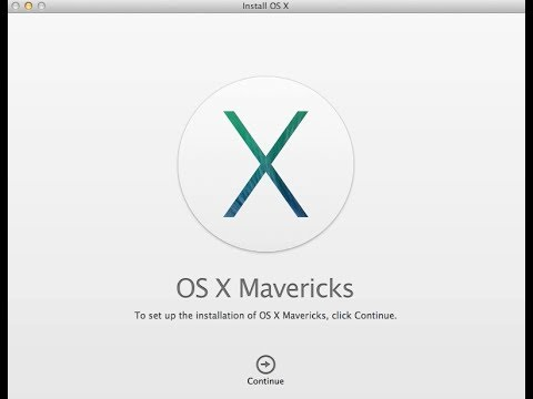 how to create a os x mavericks usb
