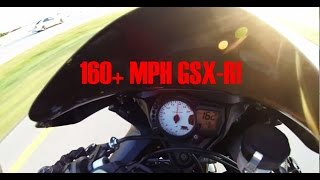 6. 2006 Suzuki GSXR 600 Top Speed Run