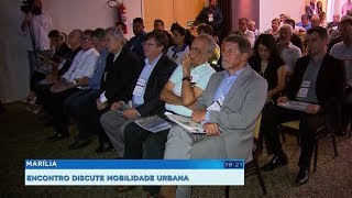 Marília é sede de fórum para debater problemas de mobilidade em municípios do interior