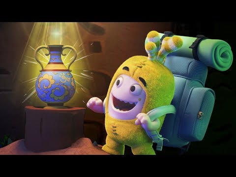 Oddbods | The GOLDEN VASE | Funny Cartoons For Children | Oddbods & Friends
