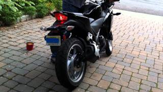 9. 2011 Honda CBR250R Stock Exhaust Versus Yoshimura Slip-On Exhaust