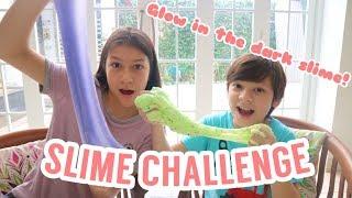 Download Video Slime Challenge   Kevin Vs Jessica   Brother & Sister Challenge MP3 3GP MP4