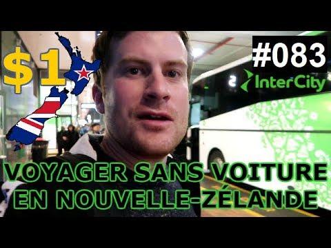 ✈ VLOG 83 | VOYAGER SANS VOITURE EN NOUVELLE-ZÉLANDE ET POUR $1 AVEC INTERCITY BUS !