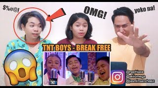 Video TNT Boys - Break Free | SINGERS REACT MP3, 3GP, MP4, WEBM, AVI, FLV April 2019