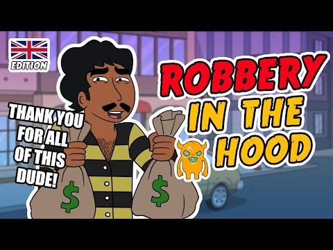 ROBBERY IN THE HOOD (UK) | OWNAGE PRANKS @OwnagePranks