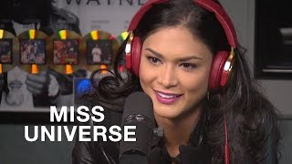 Hot 97 - Miss Universe Loves Getting DM's from James Franco