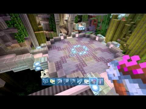 Minecraft 360 Ed. Halo Mashup Pack Review (видео)