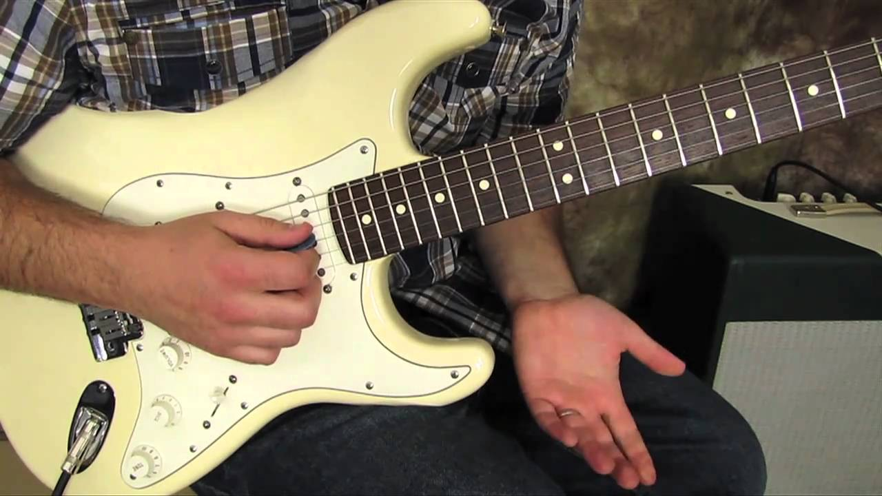 Guitar Scales Lesson – Lead Guitar Solo Lessons – Pentatonic Scale Exercise pattern
