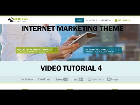 Internet Marketing WordPress Theme Video Tutorial Contact Form