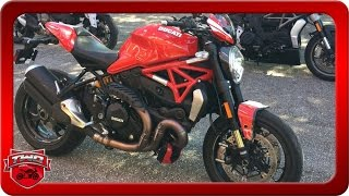 7. 2016 Ducati Monster 1200 Motorcycle Review