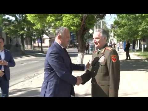 Șeful statului a participat la ședința Consiliului Republican al Uniunii Ofiţerilor din Republica Moldova