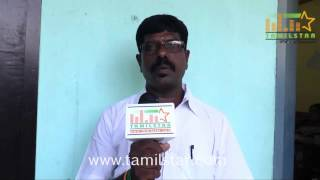 Srinivasan at Charles Shafiq Karthiga Movie Team Interview