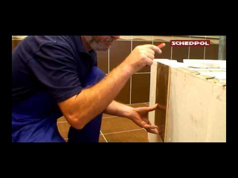 Zabudowa wanny - za pomocą nośnika uniwersalnego firmy  Schedpol