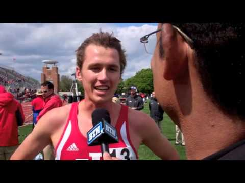 Andy Bayer Wins the Big Ten 5,000m, completes the double