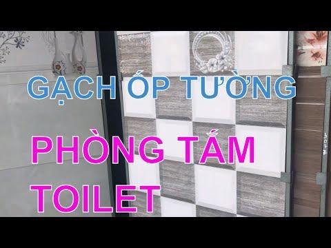 Gạch ốp tường phòng tắm 30x60 giá rẻ|Gạch ốp tường toilet.