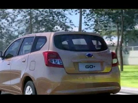 Datsun Go+ Exterior Interior Video Indonesia MVP & Hatcback Type