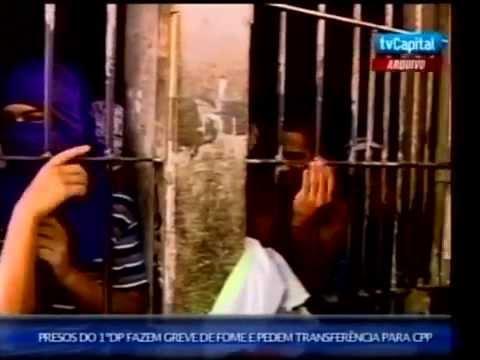 Presos do presidio de Campinorte estão em greve de fome por superlotação na unidade