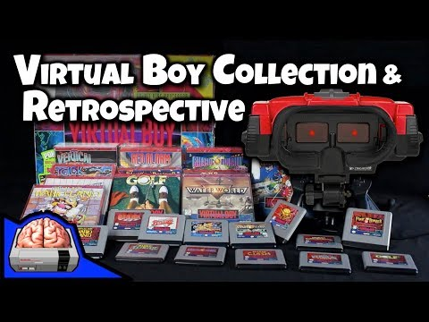 Nintendo Virtual Boy Collection, Retrospective, Review, and Best & Worst Games