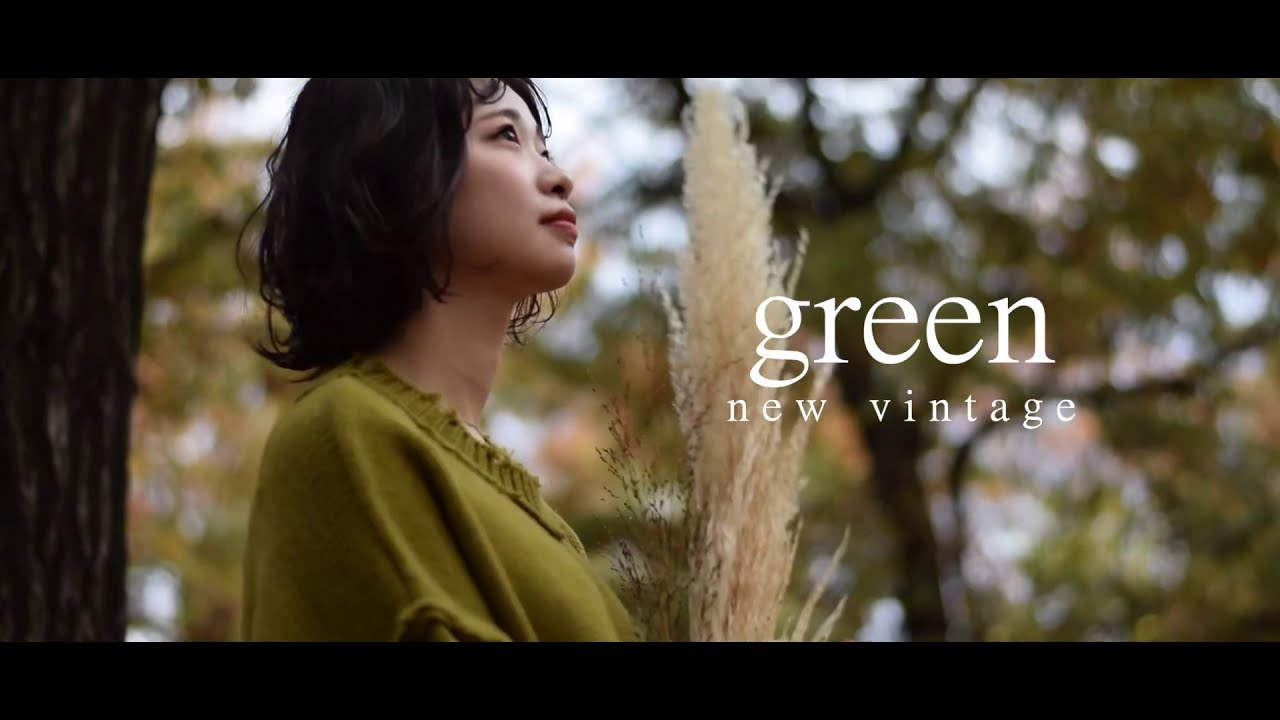 2020〜2021〝New vintage〟green