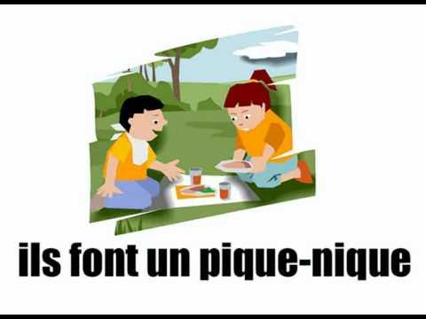 [Basic French lesson] [Vocabulary] Pendant les vacances vol2