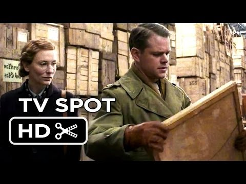 The Monuments Men 'Newsreel' Extended Spot (2013) – George Clooney Movie HD