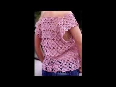 cuadritos a crochet - Fácil solo teje los cuadros unir y listo.