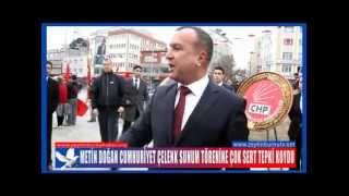 Metin Doğan Cumhuriyet Çelenk Sunum Törenine Çok Sert Tepki Koydu