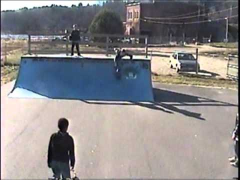 Nate Paradis At Tri-Town Skate Park