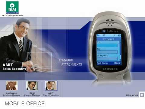 ICS • RIM Mobile Office Demo