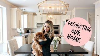 HOME DECOR UPDATES & CHANGES TO OUR HOUSE | ALEX & MICHAEL