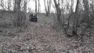 5. 2011 Honda Big Red muv trail hill climb