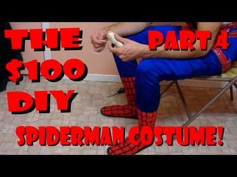 Replica Spider-man costume construction - Boots [PART 4]