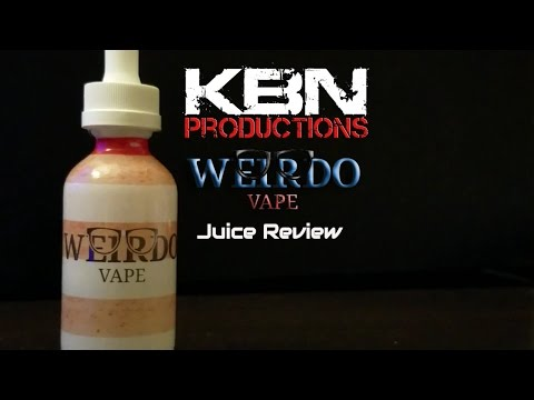|Weirdo Vape| KBN Productions | Ejuice | Review |