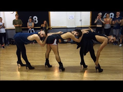 Men Perform Epic Beyonce Dance Wear High Heels
