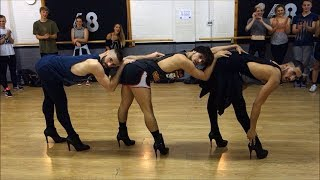YANIS MARSHALL CHOREOGRAPHY. MUSIC BY BEYONCE. FEAT ARNAUD & MEHDI. STUDIO68 LONDON #BGT REHEARSAL - YouTube