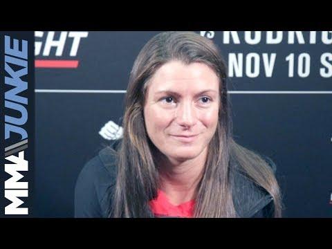 UFC Denver: Hannah Cifers full media day interview