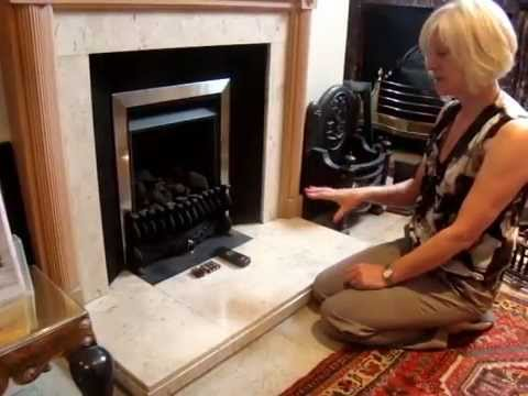 How to change your batteries on your gas fire