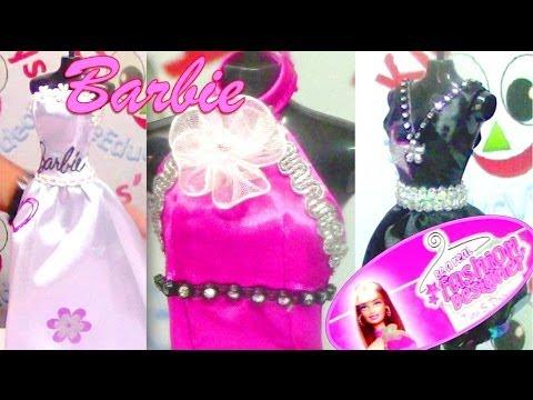 Barbie Be a Real Fashion Designer – Barbie Doll Dresses