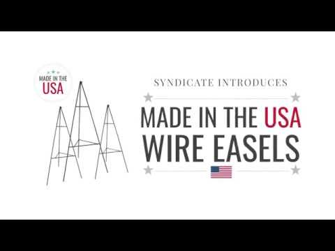 Syndicate Introduces: Made in the USA Wire Easels