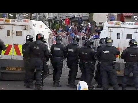 Β. Ιρλανδία: Επεισόδια στο Μπέλφαστ