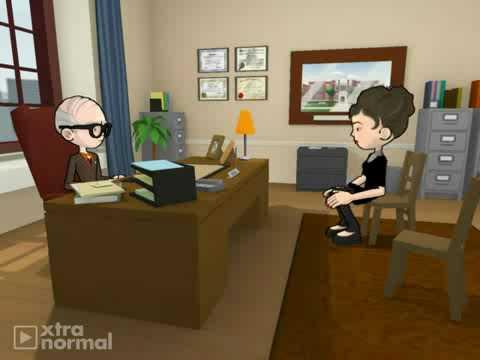 pharmaceutical rep in psychiatrist's office