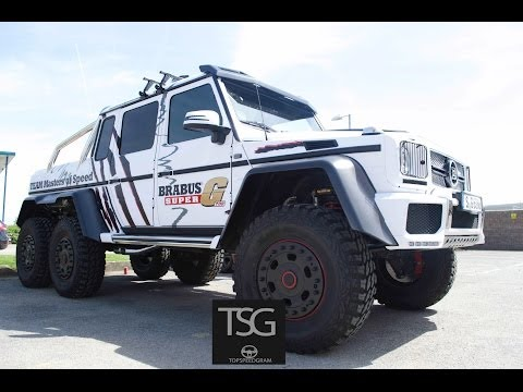 Brabus Super G 700 Acceleration