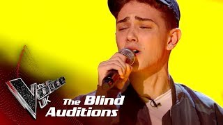 Harri Oakland Performs 'Say You Won't Let Go': Blind Auditions   The Voice UK 2018