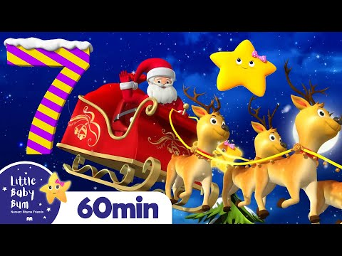 12 Days Of Christmas | +More Christmas Songs | Little Baby Bum